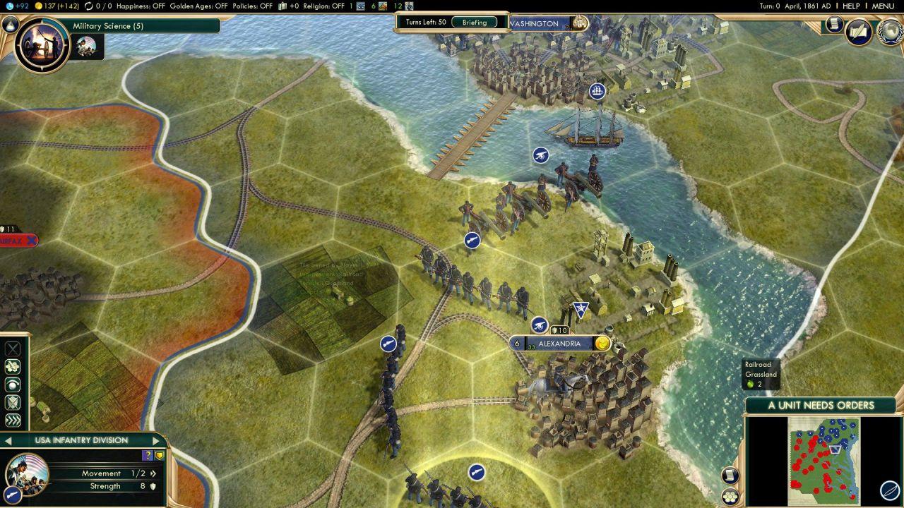 Steam: l'affare del giorno riguarda Civilization V