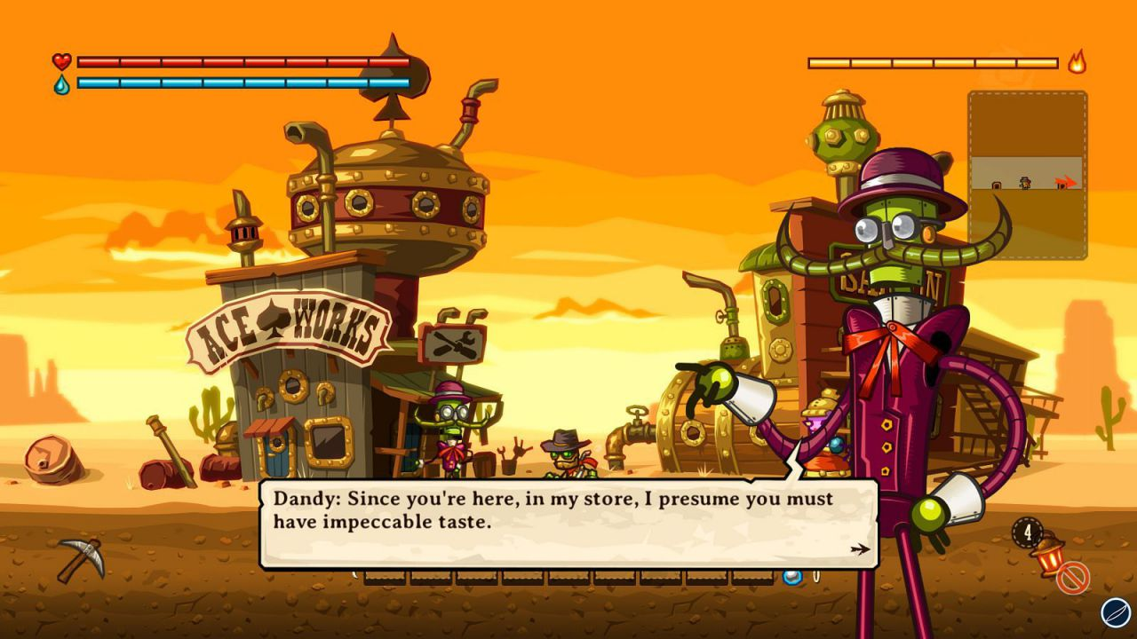 SteamWorld Dig scontato sui Wii U europei