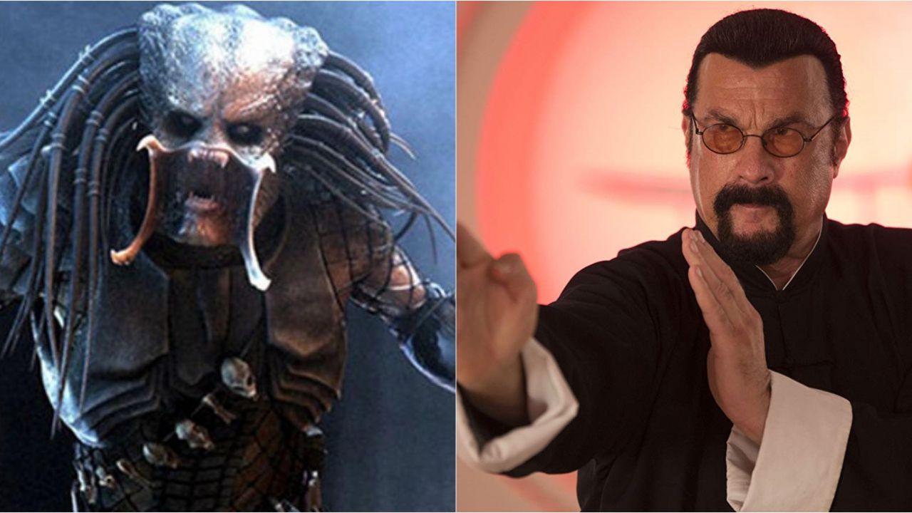 Steven Seagal perse il ruolo di protagonista in Predator: il perché è davvero tragicomico!