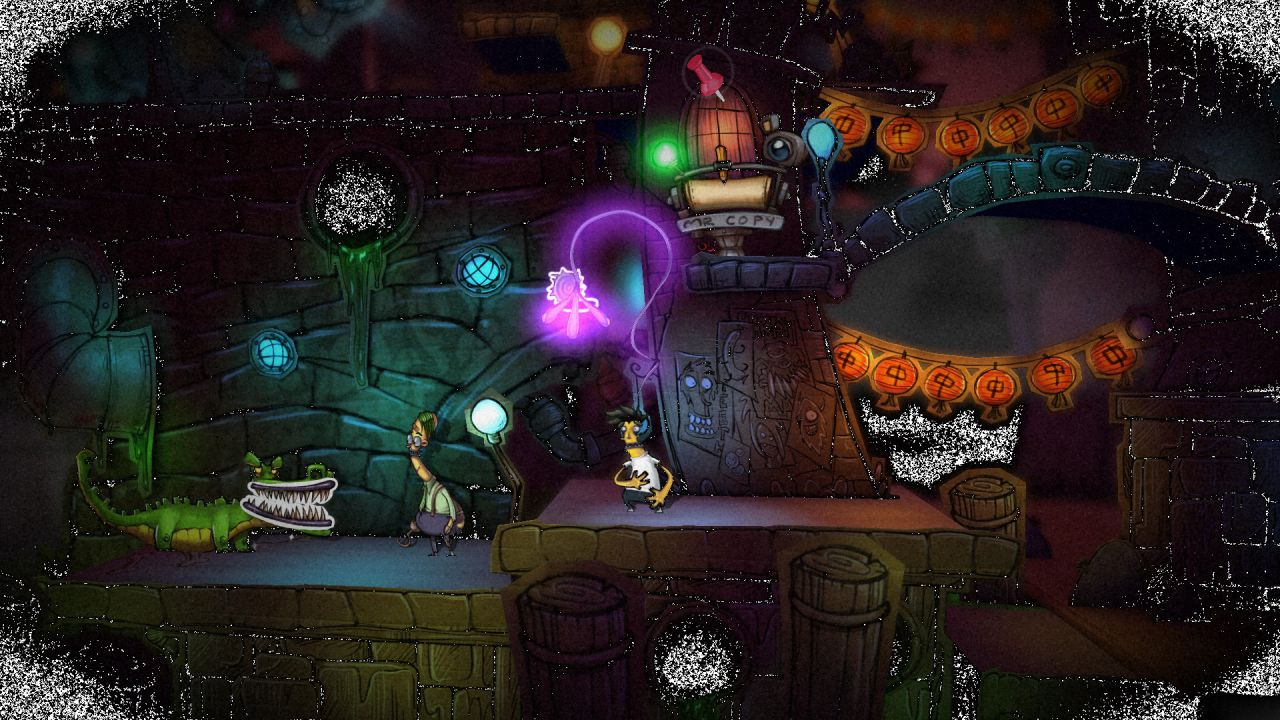 Stick it To The Man: un video per i primi 18 minuti della versione Wii U