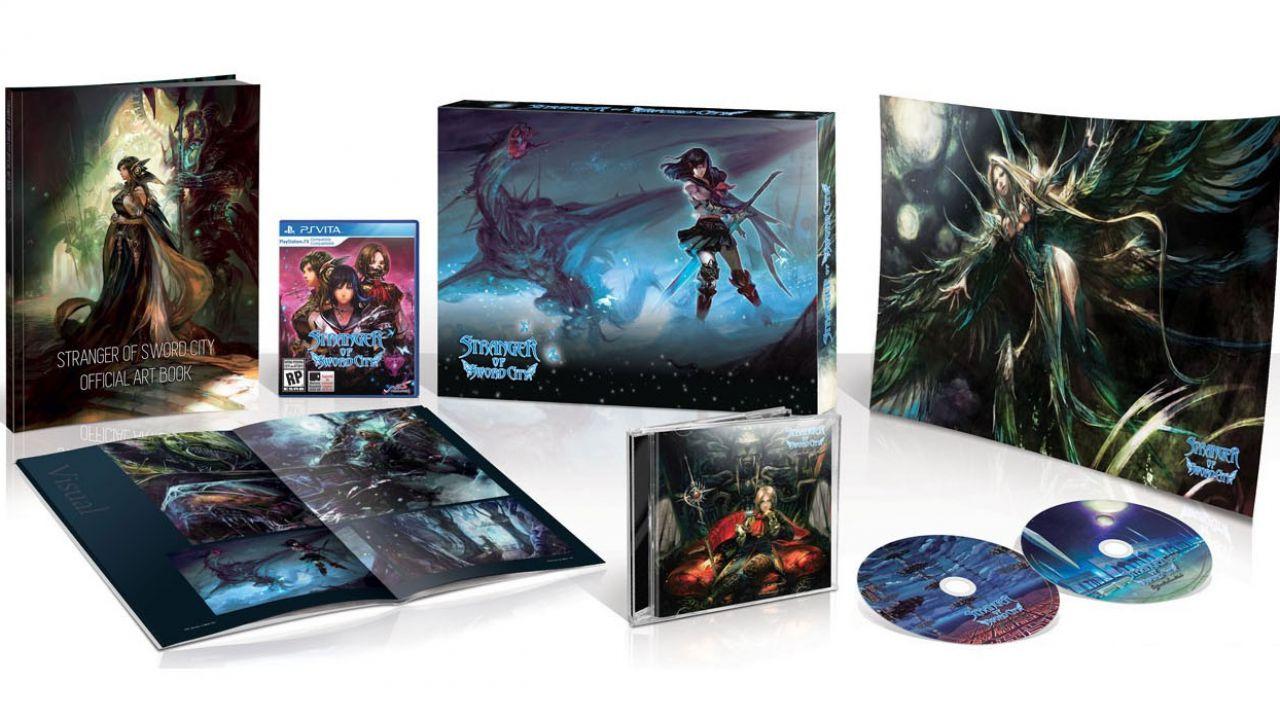 Strange of Sword City: annunciata l'edizione limitata da collezione