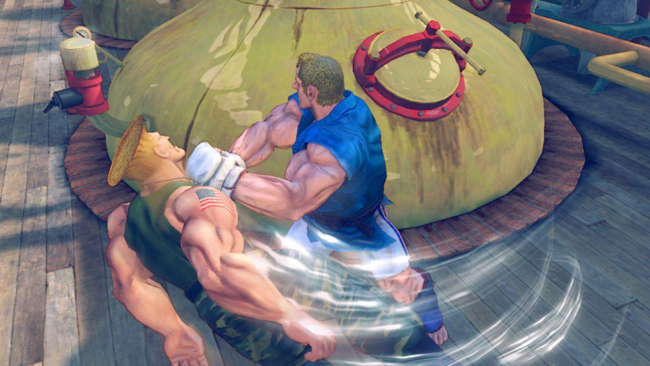 Street Fighter 4, nuove immagini per la versione Nintendo 3DS