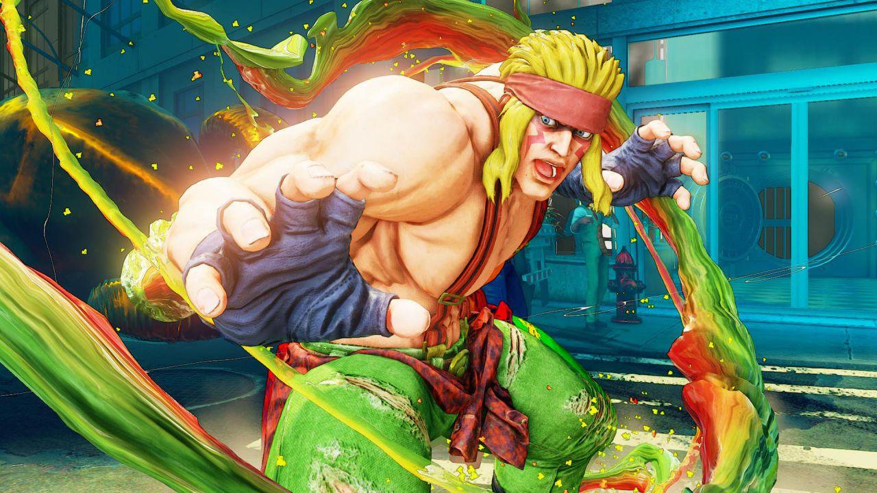 Street Fighter 5: Alex si scatena in queste immagini