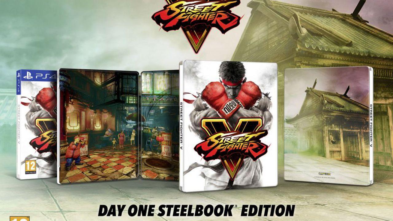 Street Fighter 5 avrà un'edizione limitata 'Steelbook' in Europa
