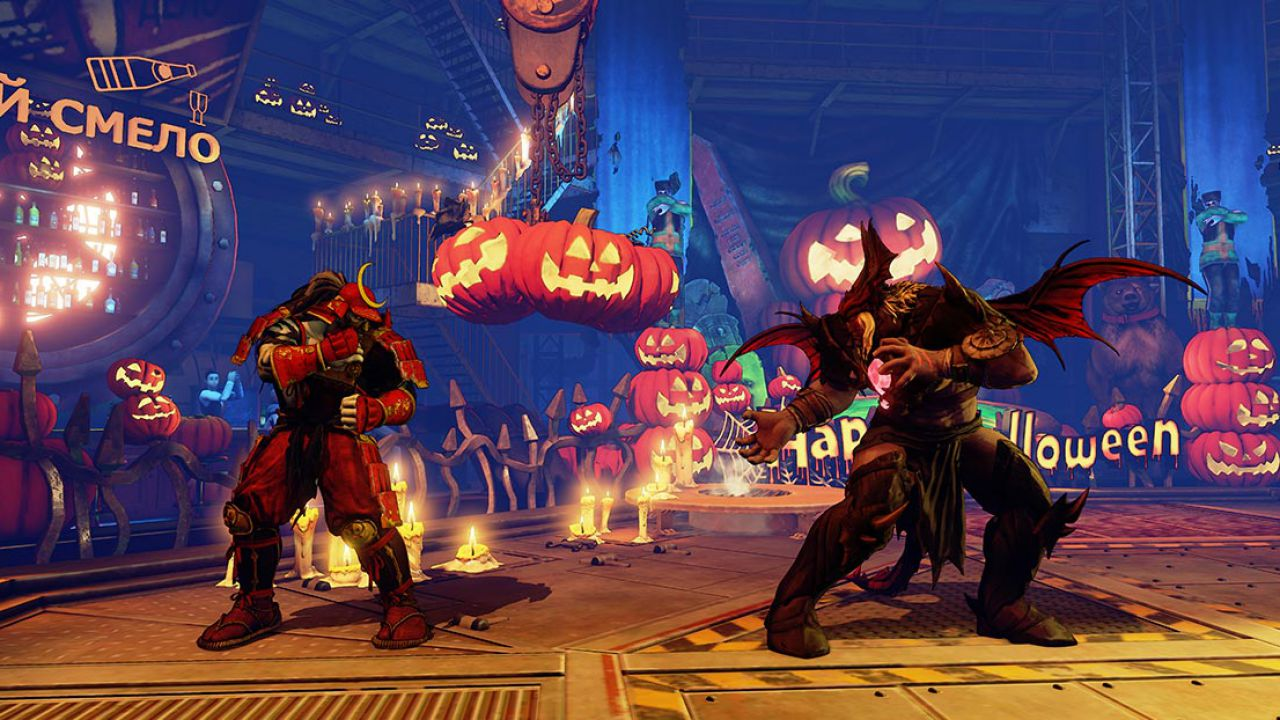 Street Fighter 5: in arrivo costumi e uno stage a tema Halloween