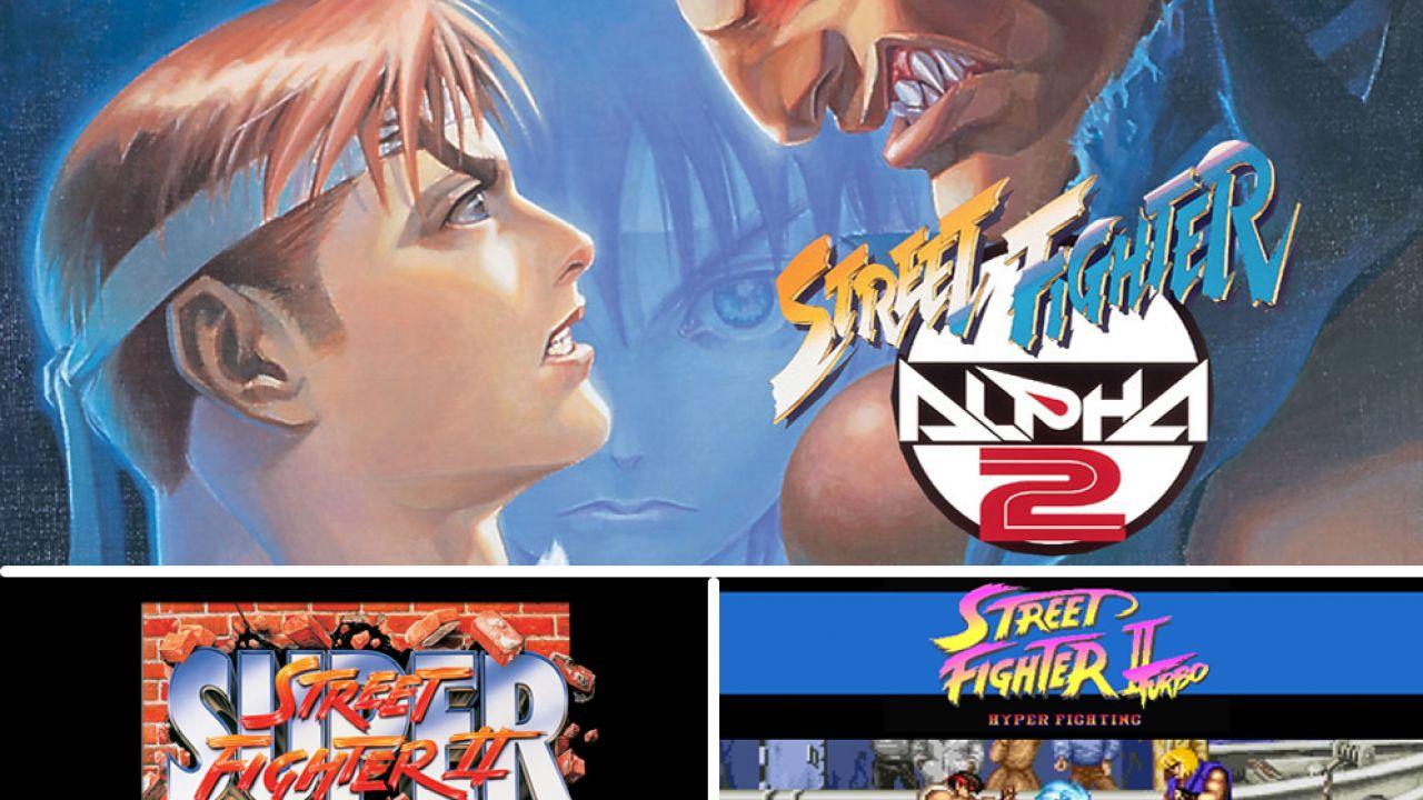 Street Fighter: tre giochi della serie arrivano sulla Virtual Console New 3DS