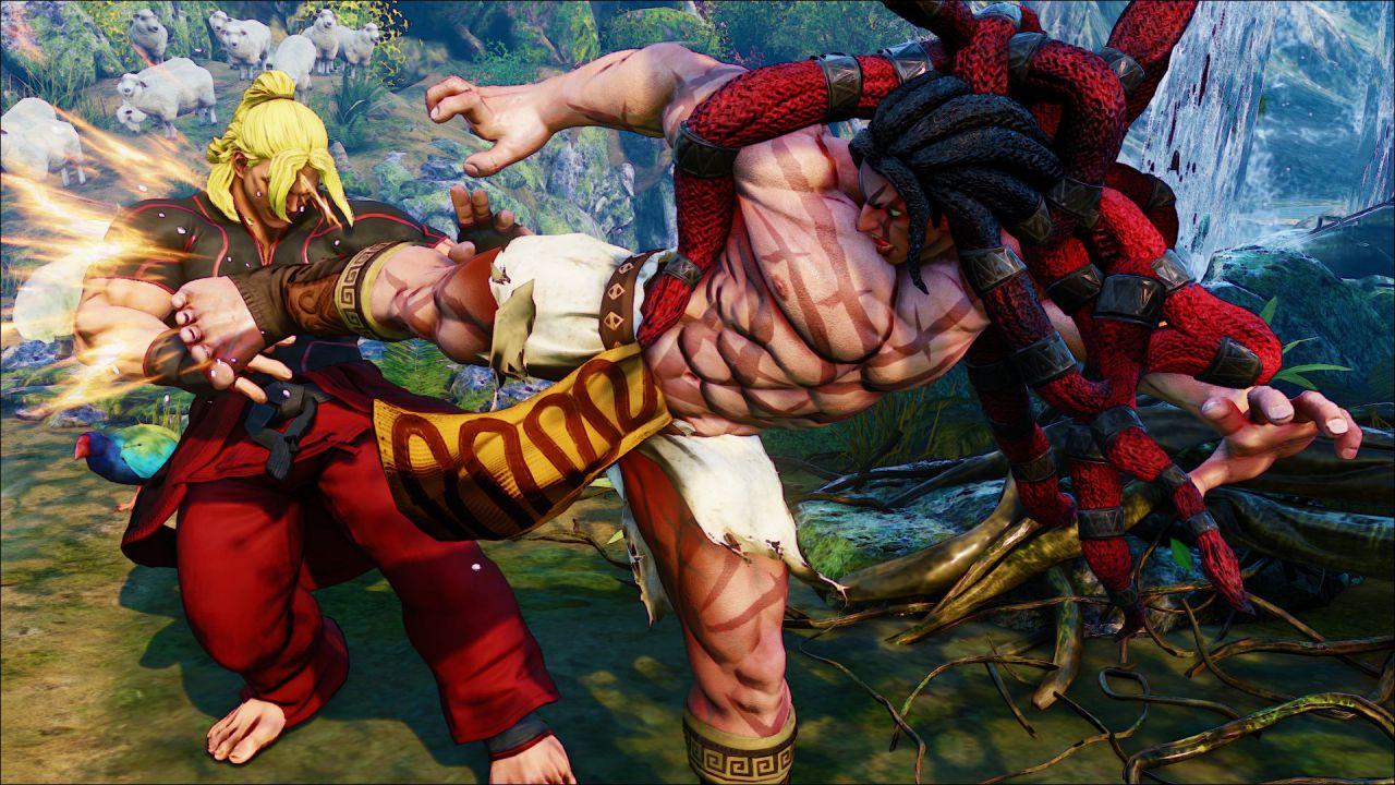 Street Fighter V: il gioco non punisce i giocatori scorretti