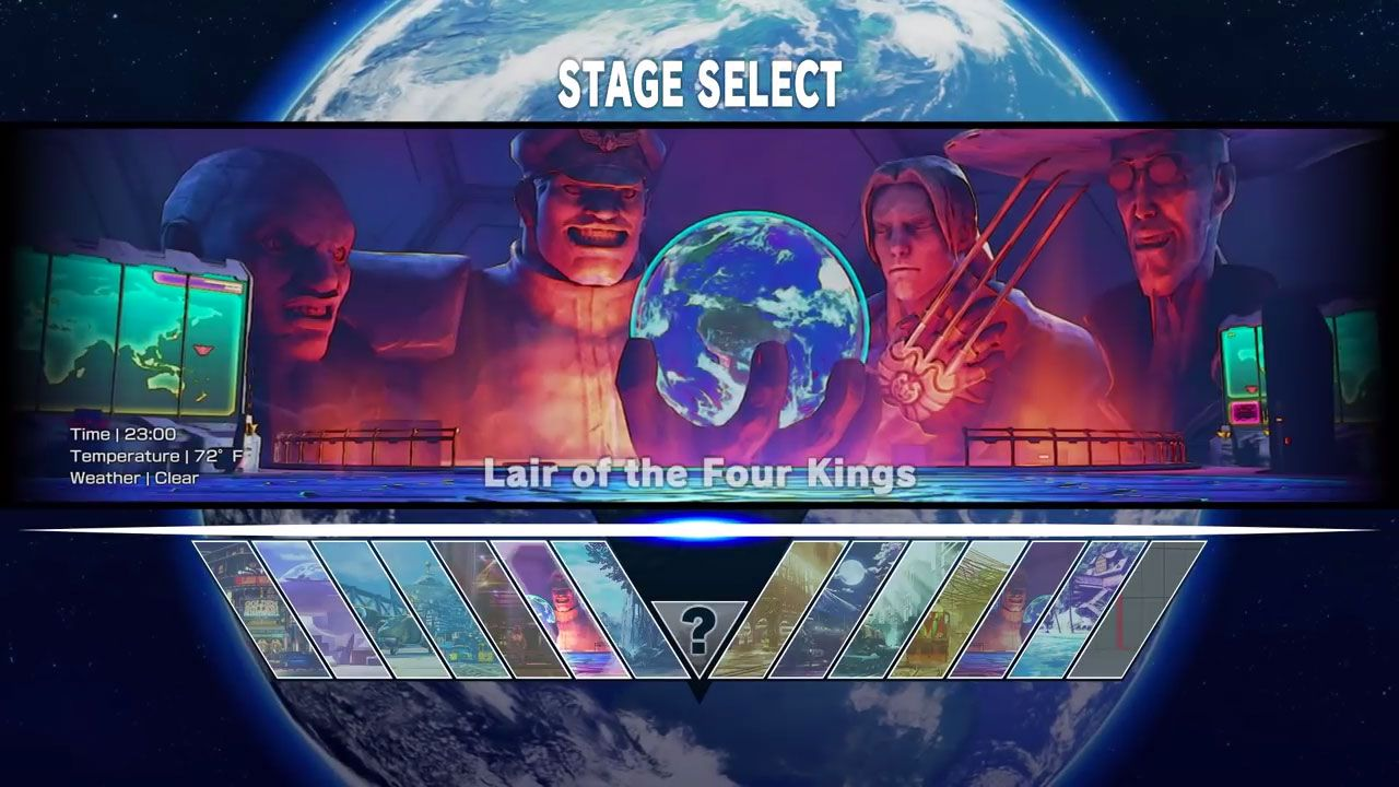 Street Fighter V: scovate nuove transizioni e finali per gli stage