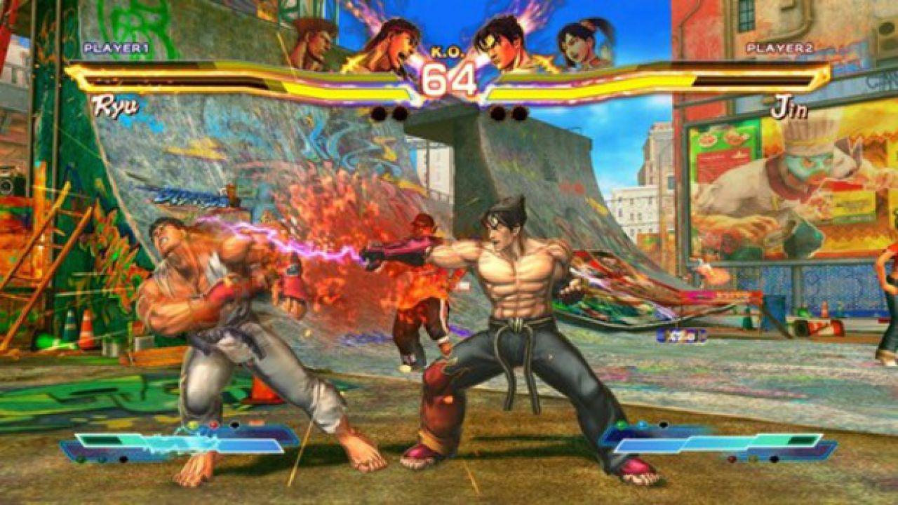 Street Fighter x Tekken e Resident Evil Operation Racoon City ricevono una patch