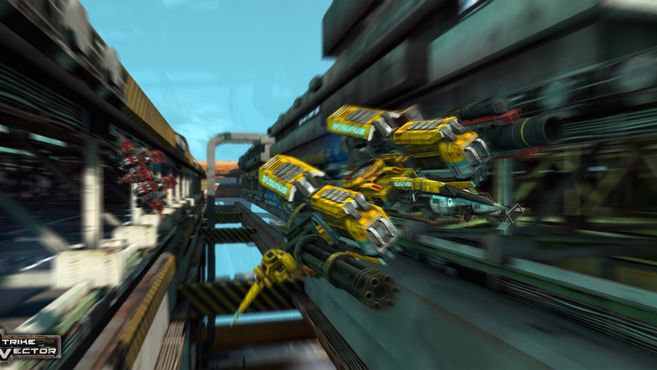 Strike Vector in offerta su Steam