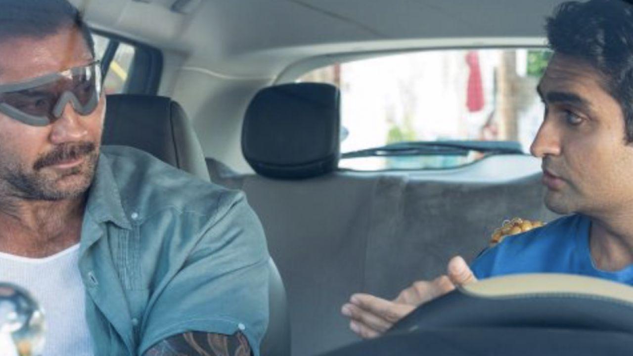 Stuber: primo sguardo a Dave Bautista e Kumail Nanjiani nella buddy comedy