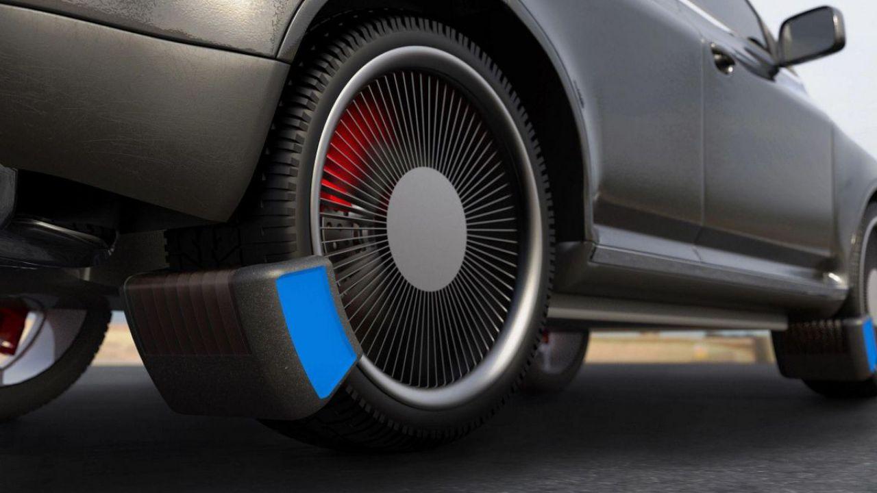 Studenti inventano un dispositivo che cattura l'inquinamento da pneumatico