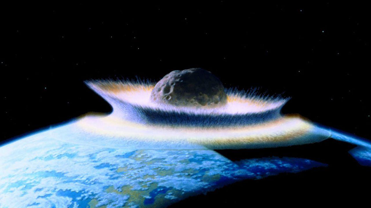 Studio analizza nel dettaglio l'impatto del gigantesco asteroide che sterminò i dinosauri