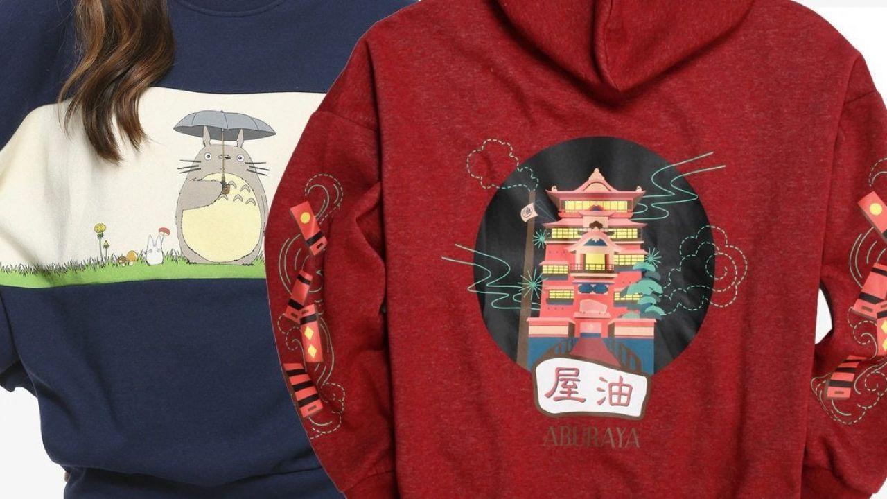 Studio Ghibli: in arrivo splendidi capi d'abbigliamento e altro merchandise a basso costo