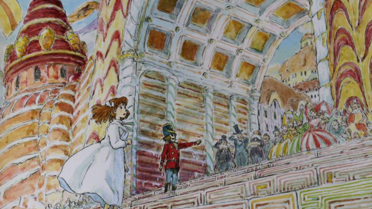 Studio Ghibli: la magia delle feste nelle illustrazioni dello Schiaccianoci di Miyazaki