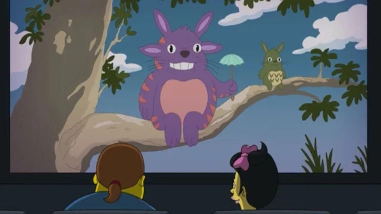 Studio Ghibli: nel nuovo episodio I Simpsons omaggiano Il mio vicino Totoro