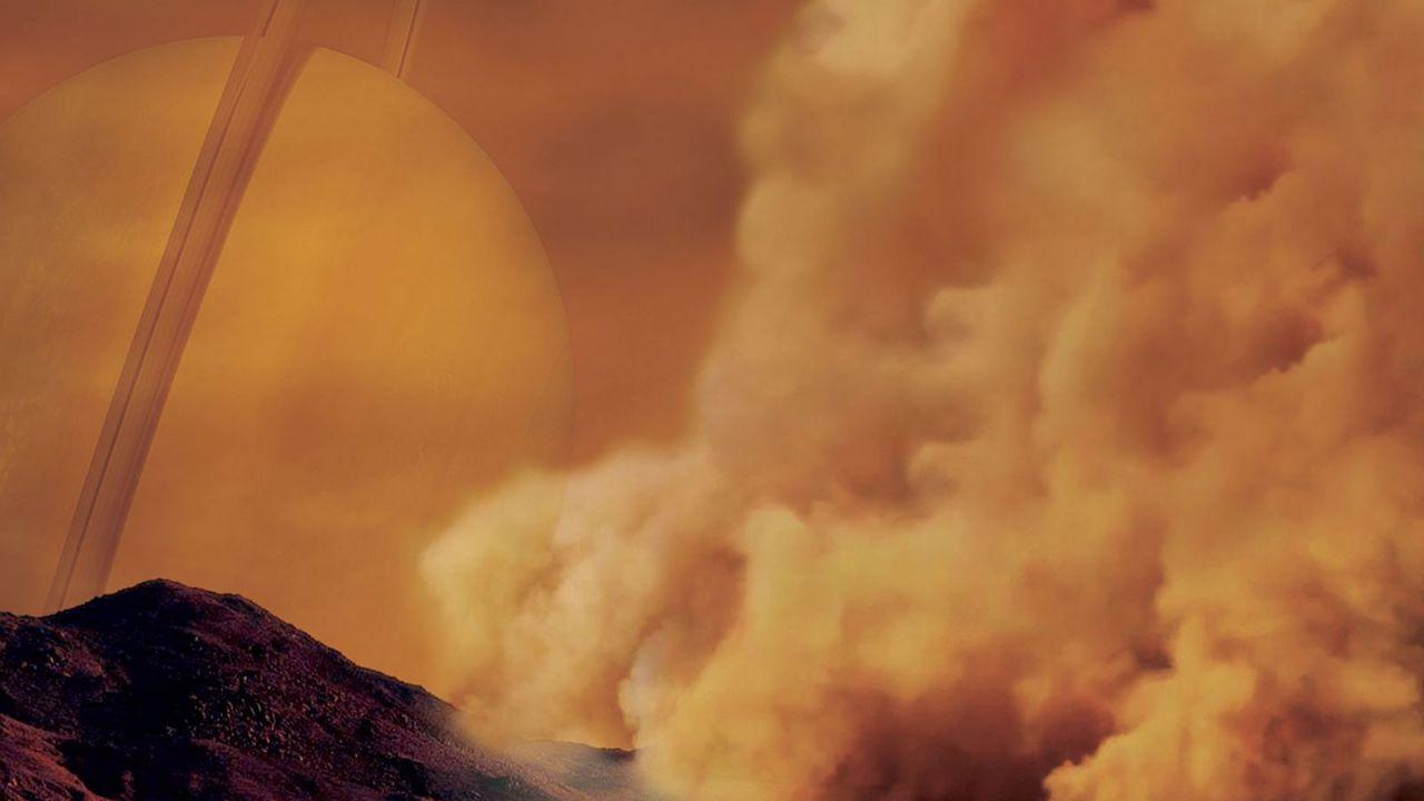 Su Titano potrebbero formarsi dei diavoli di polvere