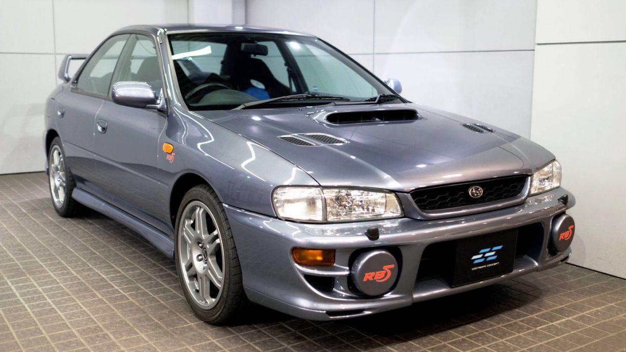 Subaru Impreza RB5 WR Sport: 77.500 euro per l'edizione limitata dimenticata