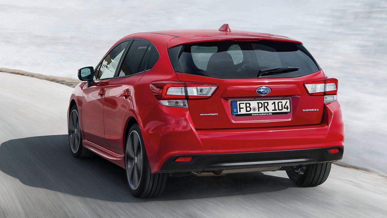 Subaru richiama 100.000 veicoli per possibili problemi al sistema frenante