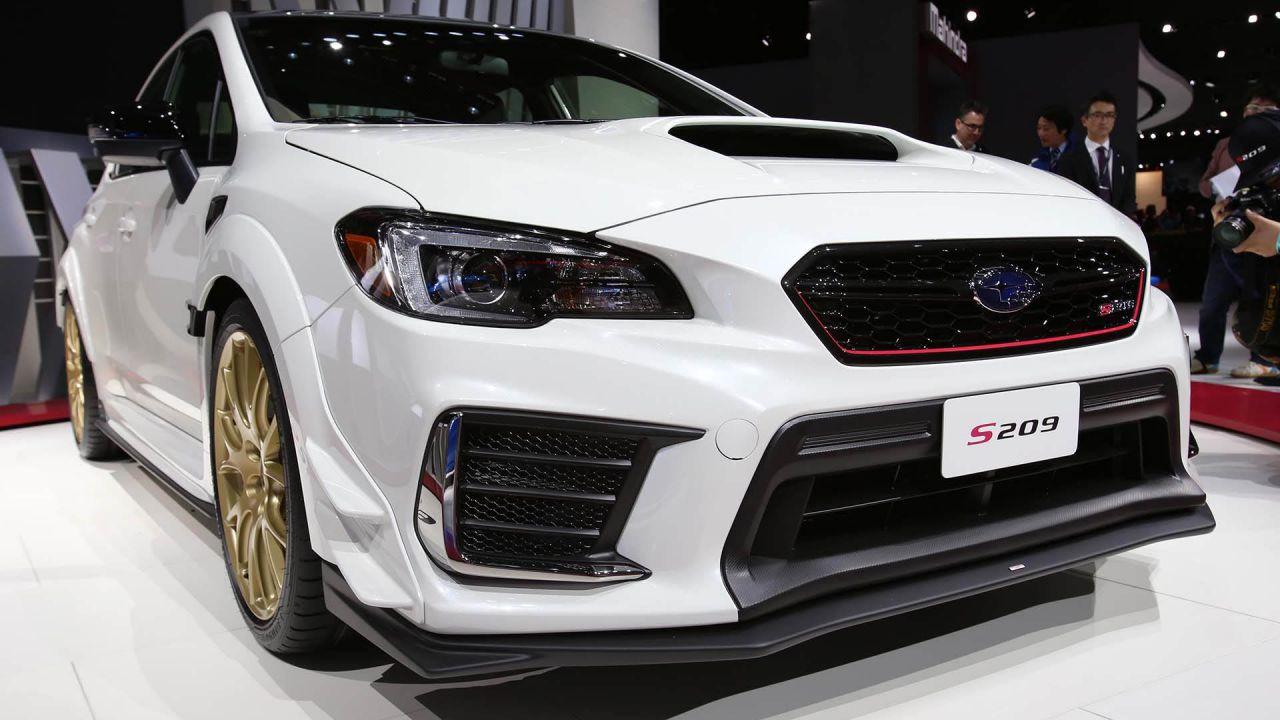 Subaru STI S209, presentata la Subaru STI più potente di sempre