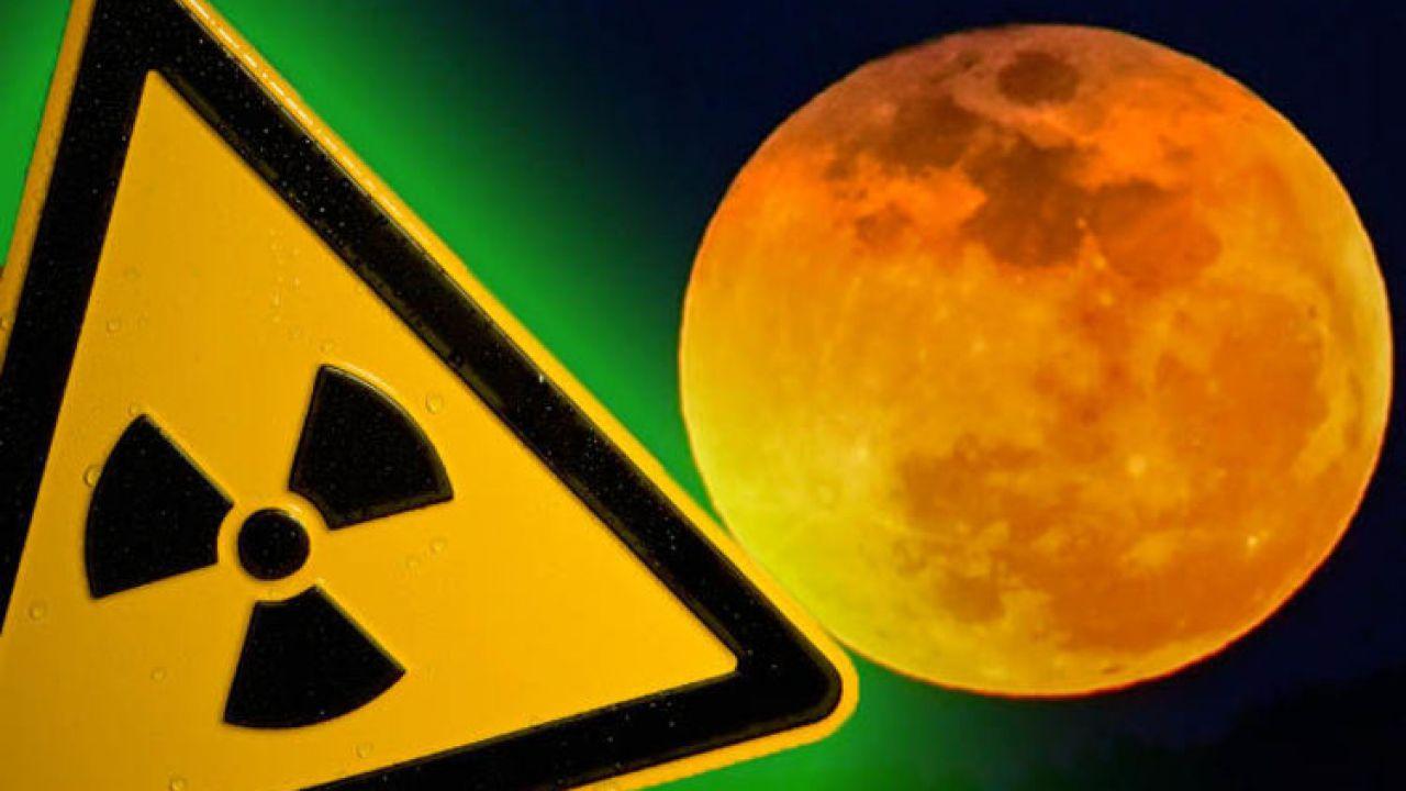 Sulla Luna ci sono 200 volte le radiazioni presenti sulla Terra