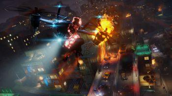 Sunset Overdrive si appresta ad accogliere l'ultimo DLC: Dawn of the Rise of the Fallen Machines