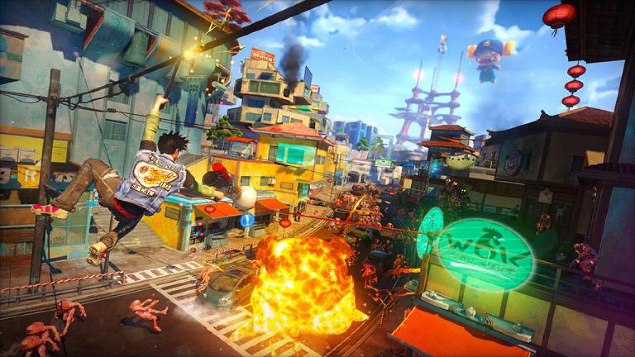 Sunset Overdrive: la Xbox One bianca mostrata in foto e video