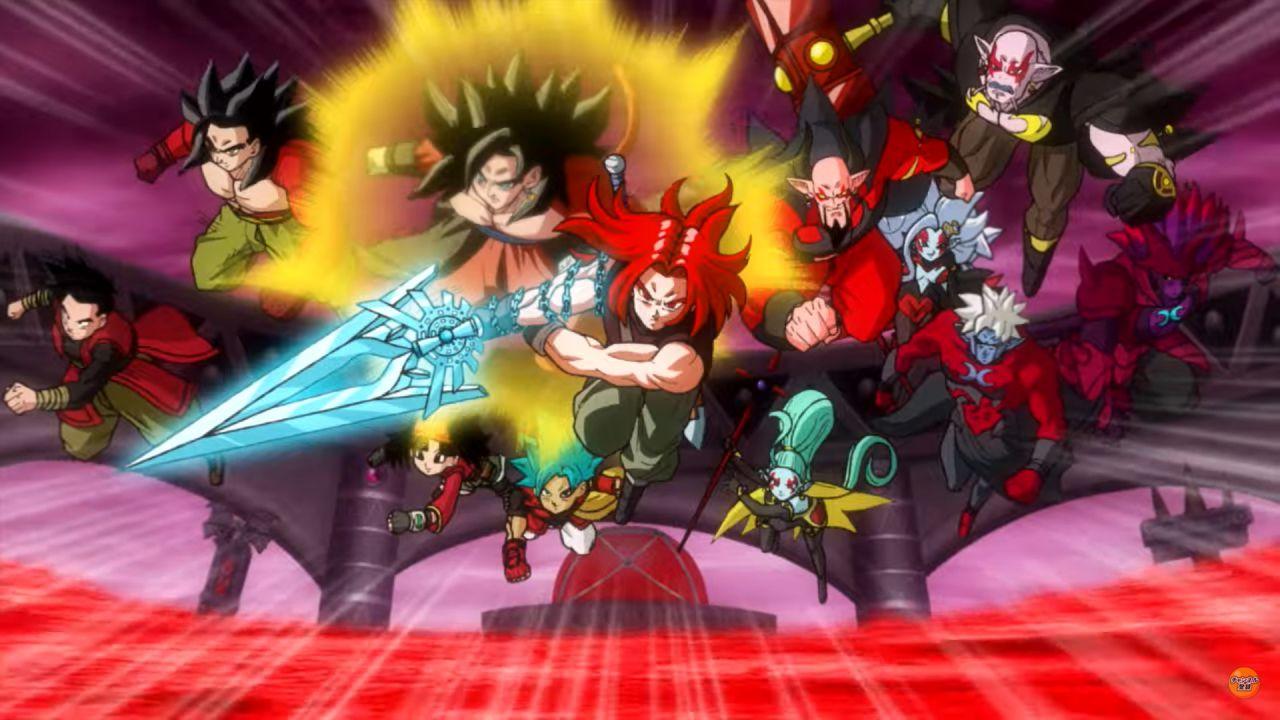 Super Dragon Ball Heroes Big Bang Mission introduce Xeno Trunks ai Guerrieri Z