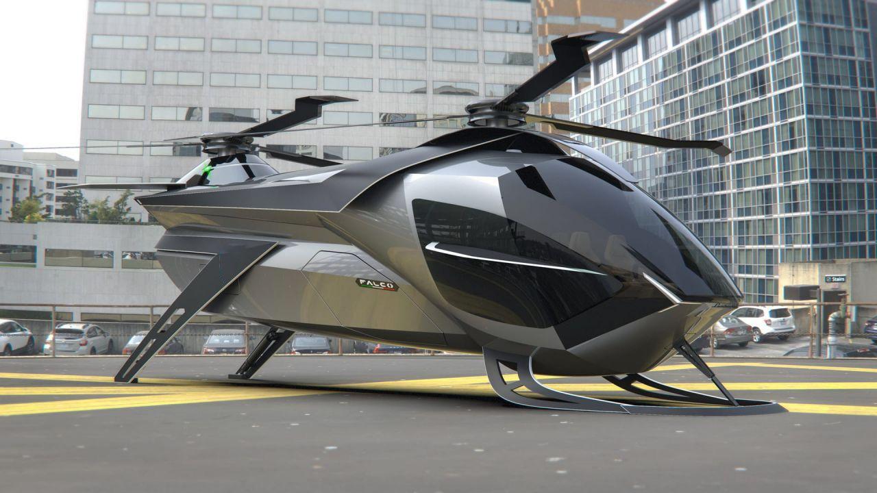 Super Elicottero Falco: da taxi volante a strumento di soccorso
