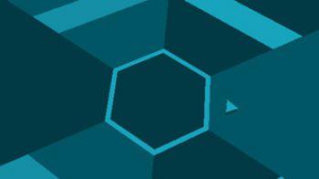 Super Hexagon arriva anche su BlackBerry 10