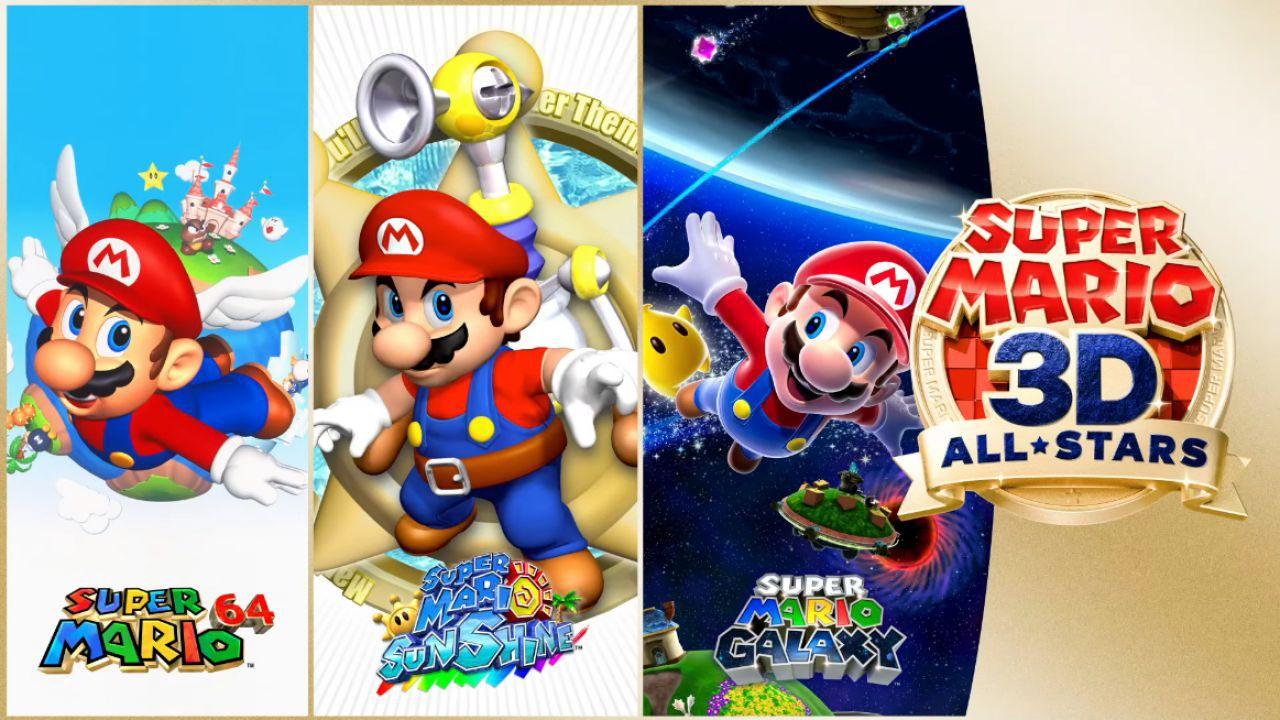 Super Mario 3D All-Stars batte Mafia Definitive Edition nel Regno Unito