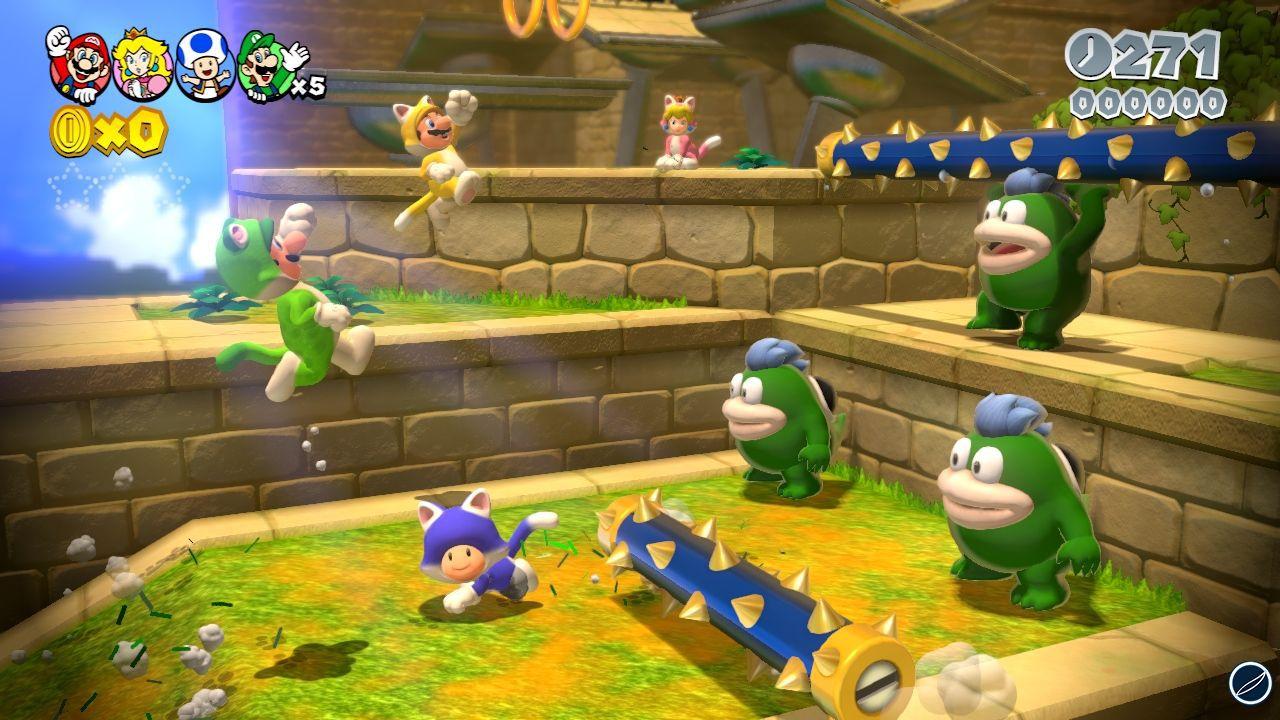 Super Mario 3D World: 24 screenshot in alta definizione!