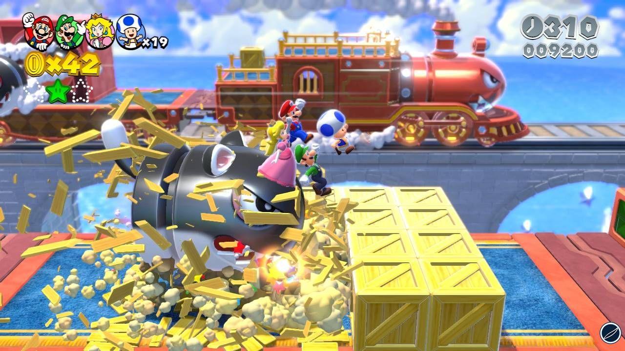 Super Mario 3D World annunciato per Wii U. Uscirà a Dicembre 2013