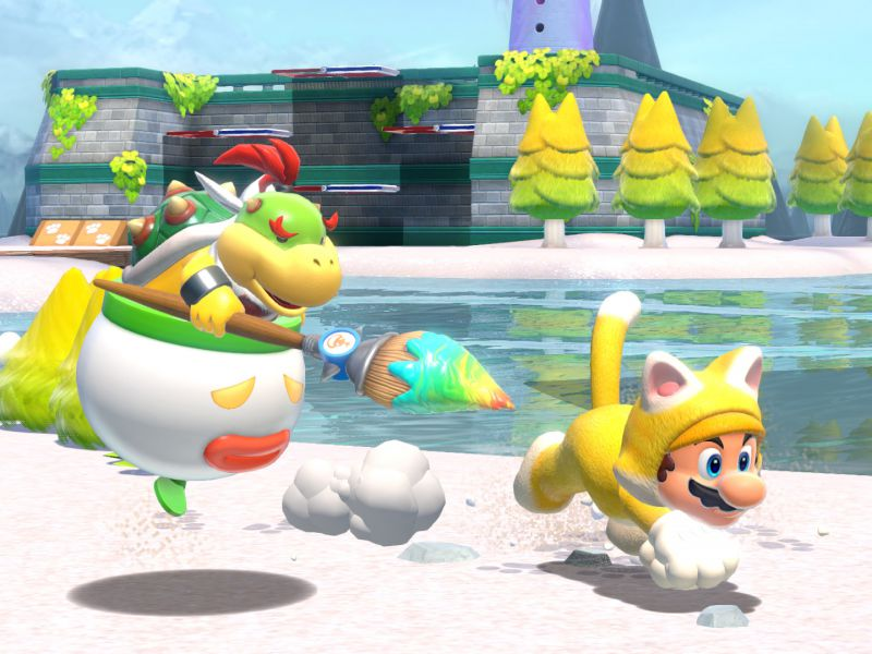 Super Mario 3D World + Bowser's Fury: Bowser Jr.'s help can be adjusted
