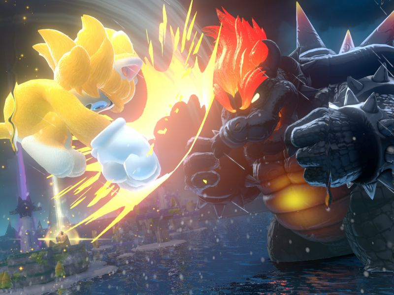 Super Mario 3D World + Bowser's Fury: how to get rid of Bowser Furioso
