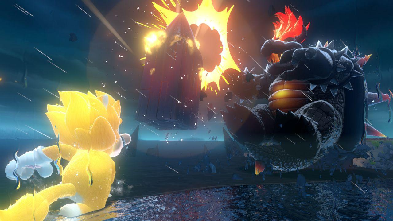 Super Mario 3D World+Bowser's Fury conquista l'Europa: hit di febbraio su Nintendo Switch