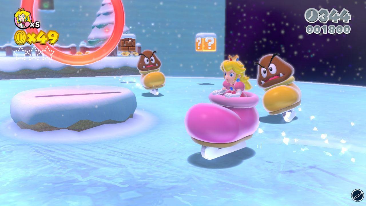 Super Mario 3D World: mostrati altri due livelli