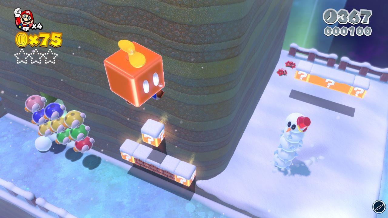 Super Mario 3D World: Nintendo pubblica nuovi screenshot ed artwork
