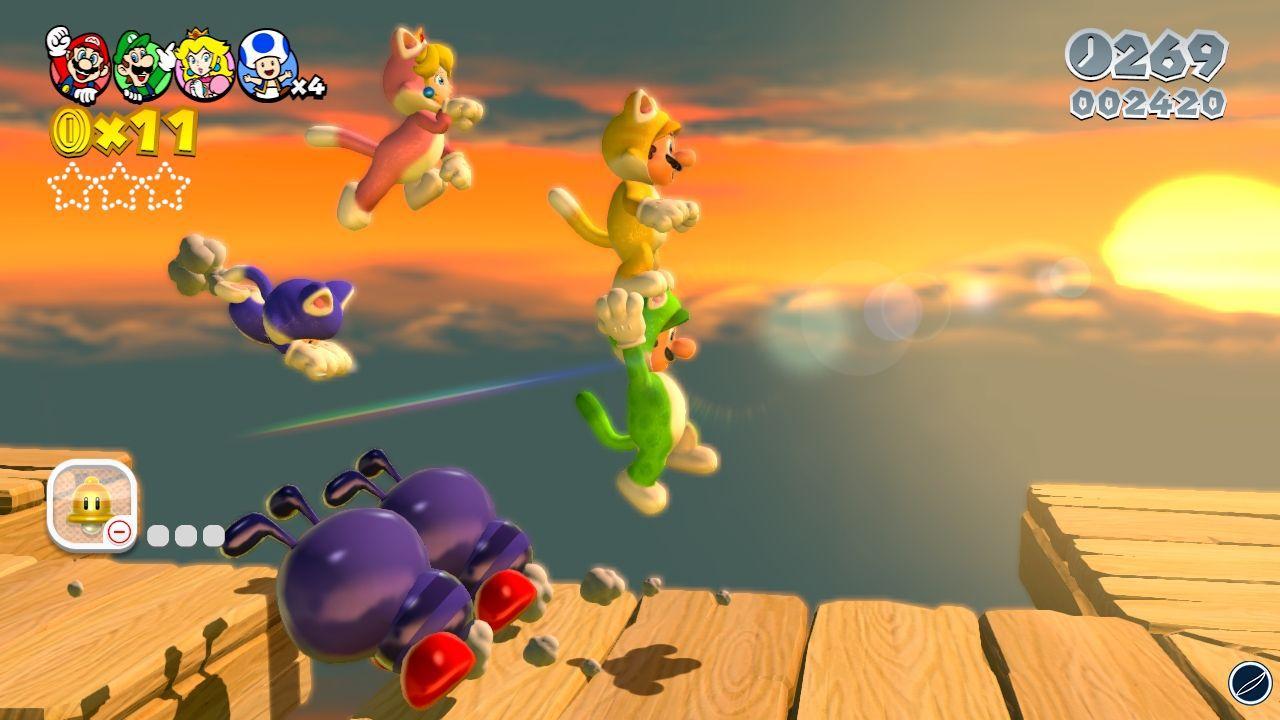 Super Mario 3D World peserà 1,7 gigabyte