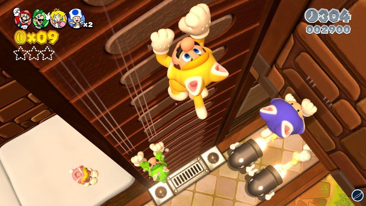Super Mario 3D World: un video mostra nuovi livelli
