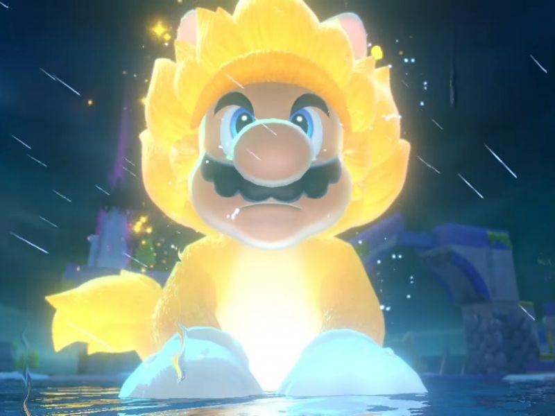 Super Mario 3D World X Dragon Ball? Excited fans of 'Super Saiyan Mario'