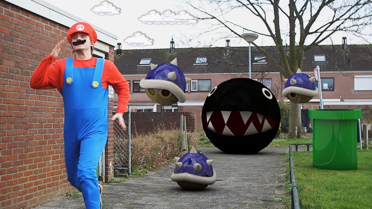 Super Mario diventa realtà e si da al parkour