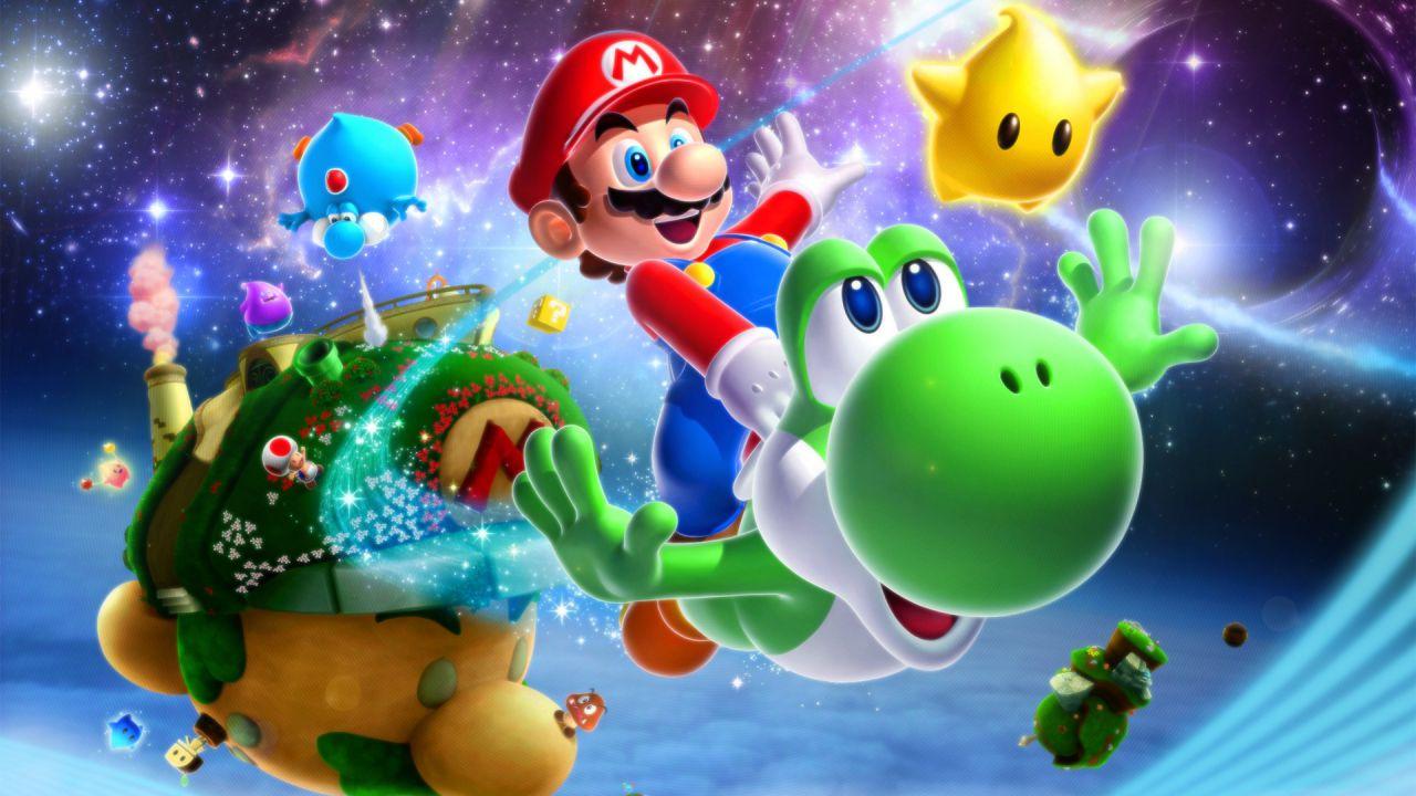 Super Mario Galaxy finito utilizzando il tappetino di Dance Dance Revolution come controller