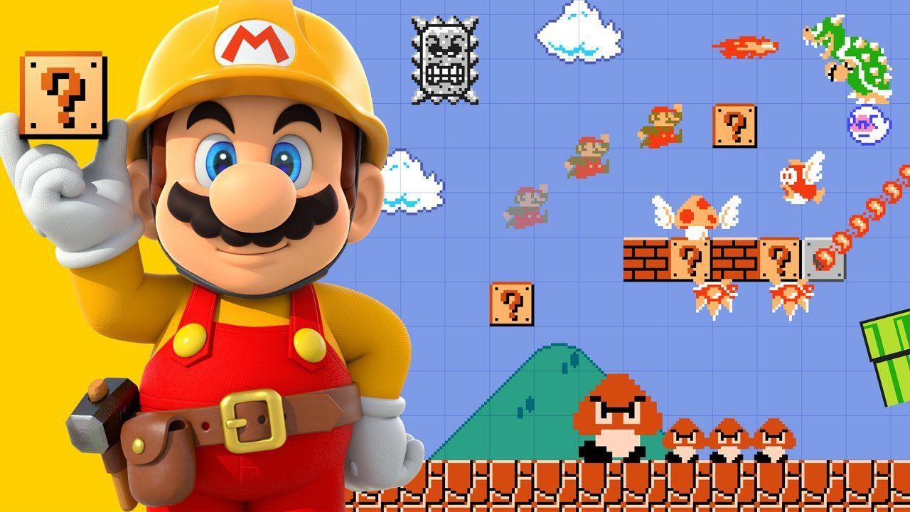 Super Mario Maker arriva domani nei negozi europei