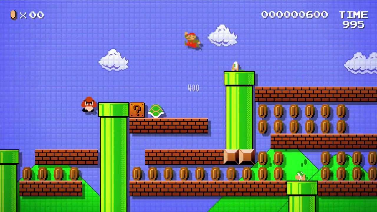 Super Mario Maker si aggiorna alla versione 1.1.0