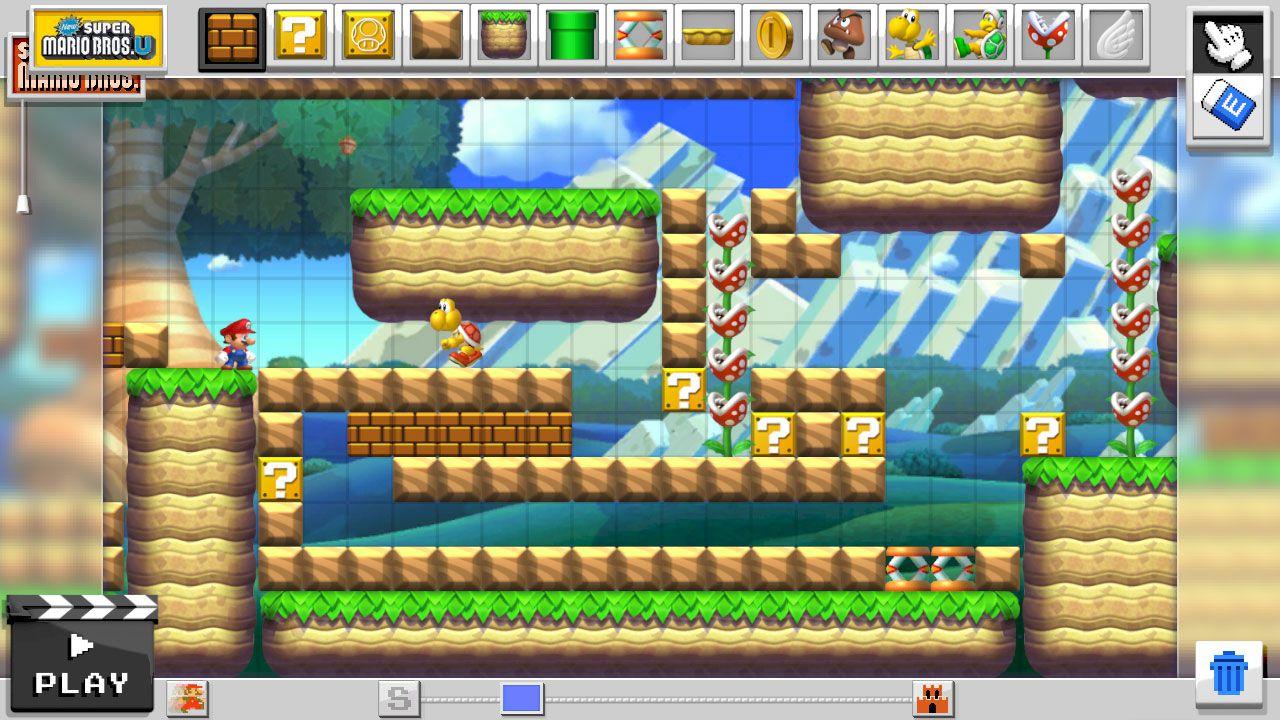 Super Mario Maker vanterà 100 livelli pre-installati