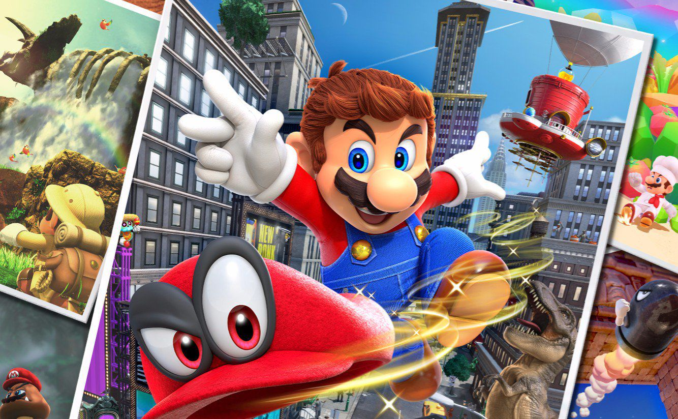Super Mario Odyssey: emergono nuovi video gameplay del gioco