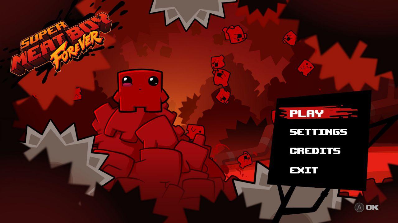 Super Meat Boy Forever: il platform hardcore del Team Meat esce ad aprile
