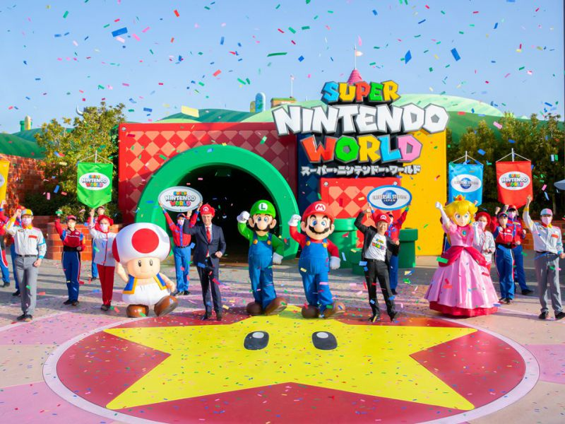 Super Nintendo World has opened its doors: the inauguration ceremony in Japan