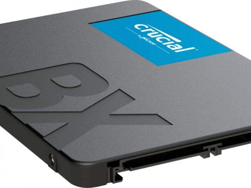 Super offerta Amazon del weekend: quasi 80 Euro di sconto su un SSD Crucial da 2TB
